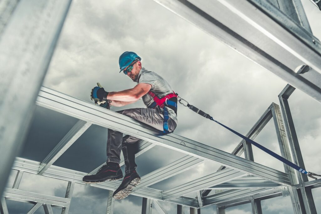 Skeleton Frame Worker Safety